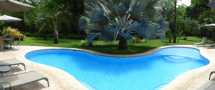 Playa negra Guesthouse Caraïbes sud Cahuita piscine