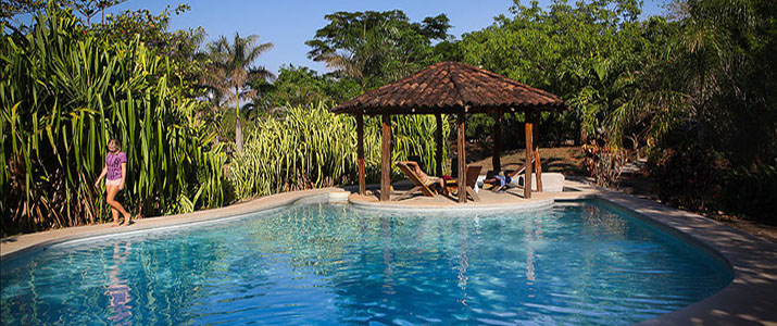 Mauna Loa Guanacaste Playa Avellanas piscine rancho en pleine nature
