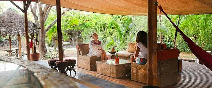Mauna Loa Guanacaste Playa Avellanas extérieur hamac fauteil jardin tropical