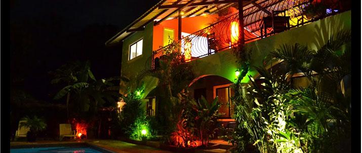 Conchal Hotel Guanacaste Playa Brasilito hôtel vue extérieur terrasse