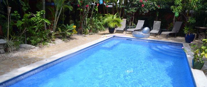 Conchal Hotel Guanacaste Playa Brasilito piscine extérieur
