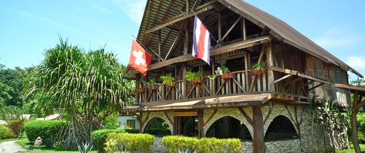 Suizo Loco Lodge Caraïbes Sud Cahuita maison