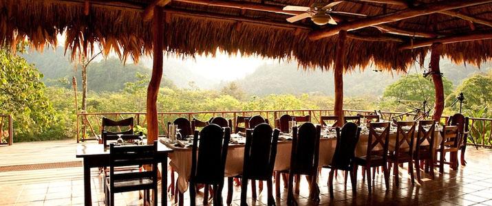 Rafiki Safari Lodge Dominical Pacifique Sud Costa Rica Hotel Restaurant