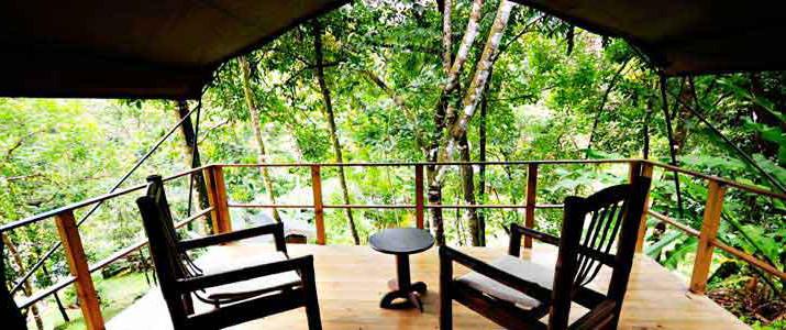 Rio Tico Safari Lodge Pacifique Sud Ojochal Costa Rica Hotel Balcon
