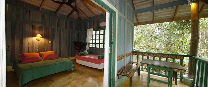 Villas Gaias Pacifique Sud Ojochal Costa Rica Hotel Terrasse