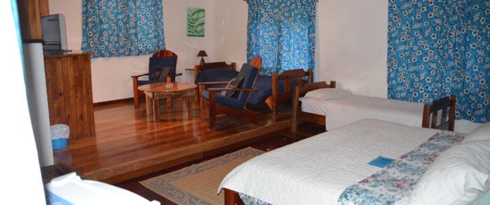 La Ponderosa Pacifique Sud Pavones Costa Rica Hotel chambre