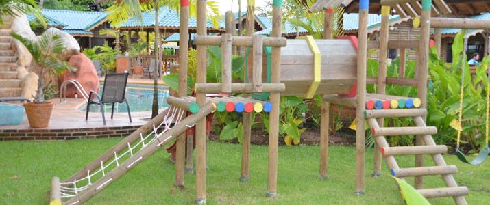 Bungallows ballena Uvita Pacifique Sud Costa Rica Hotel Air de Jeu