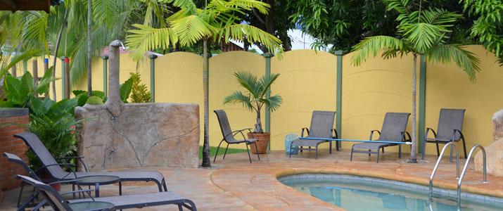 Bungallows ballena Uvita Pacifique Sud Costa Rica Hotel Piscine