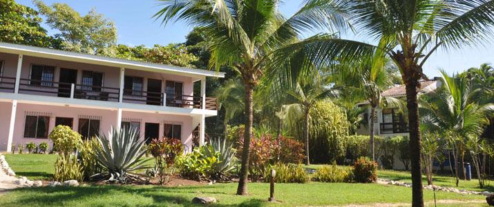 Villa Del Sol Guanacaste Playa del Coco extérieur palmier jardin