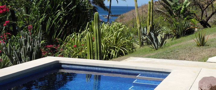Casas Pelicano piscine
