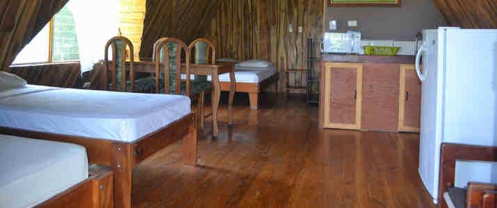 Ostional Turtle Lodge cuisine intérieur