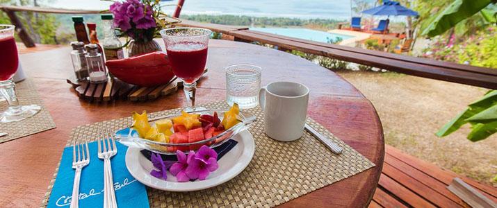 Cristal Azul petit-déjeûner