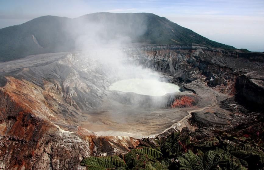 cratère du Volcan Poas