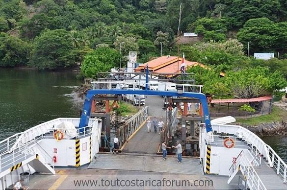 Ferry à Paquera