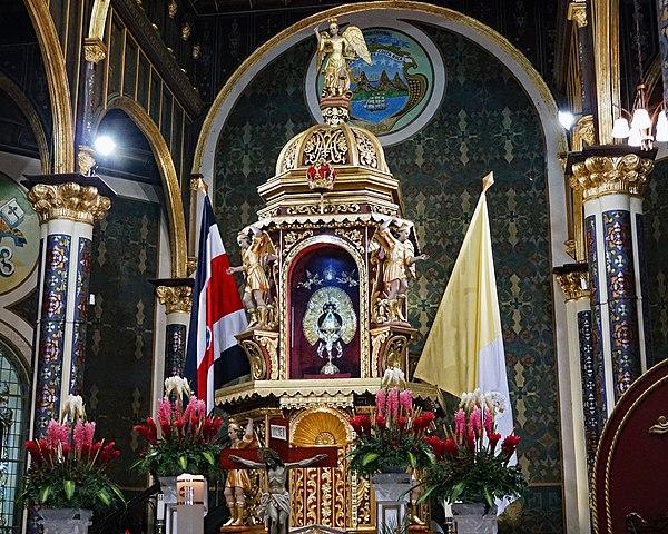 L'autel de la Vierge
