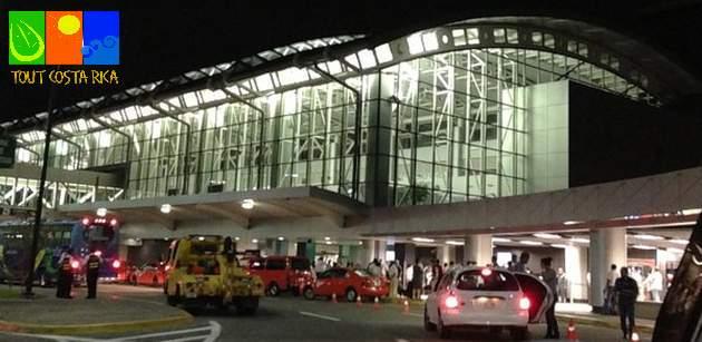 Uscita dall'aeroporto di San Jose